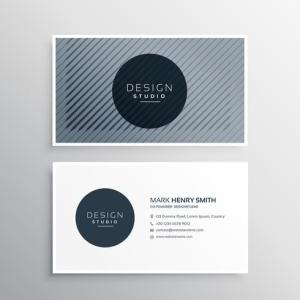company business card layout template with abstract pattern line     company business card layout template with abstract pattern line