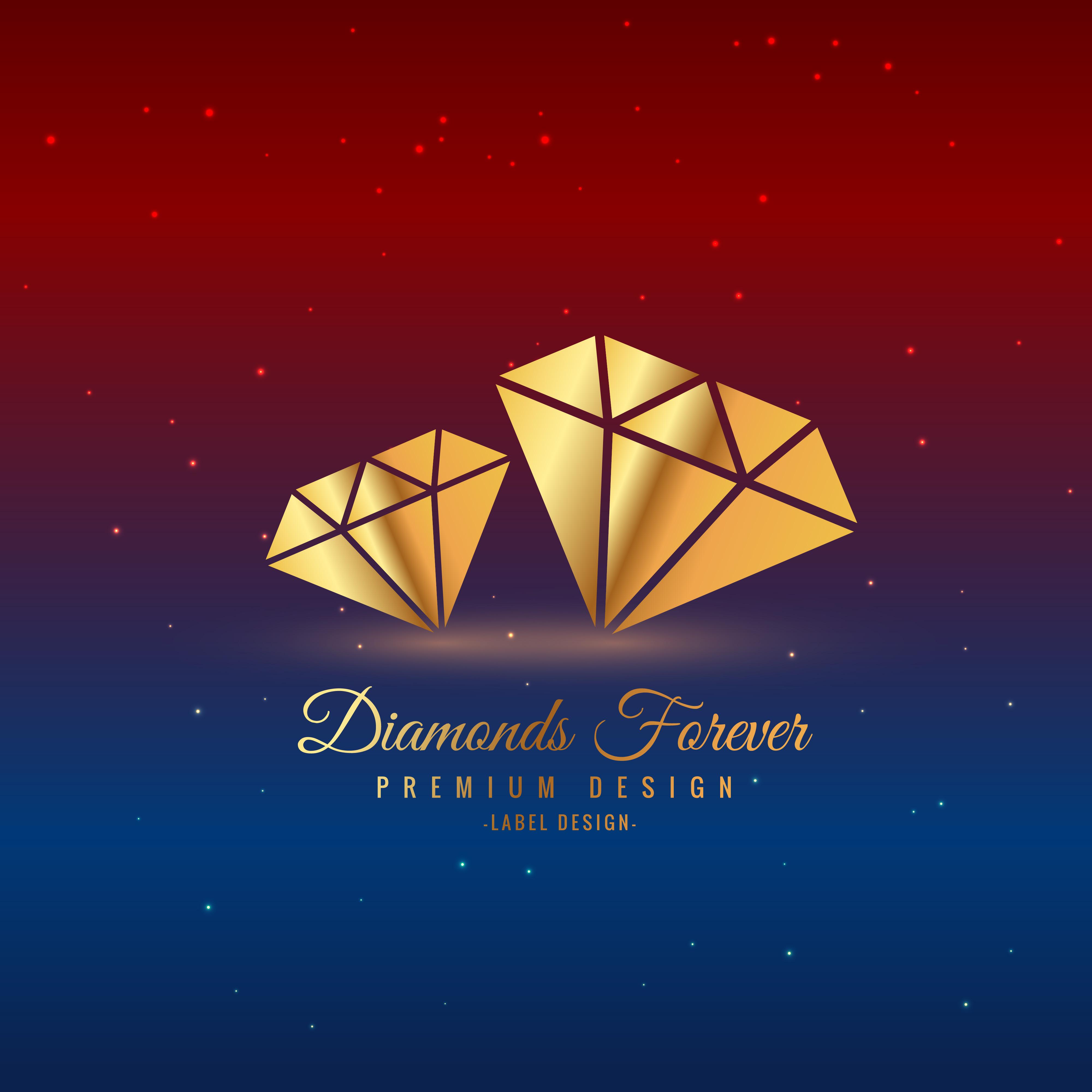 Diamonds In Gold Download Free Vector Art Stock