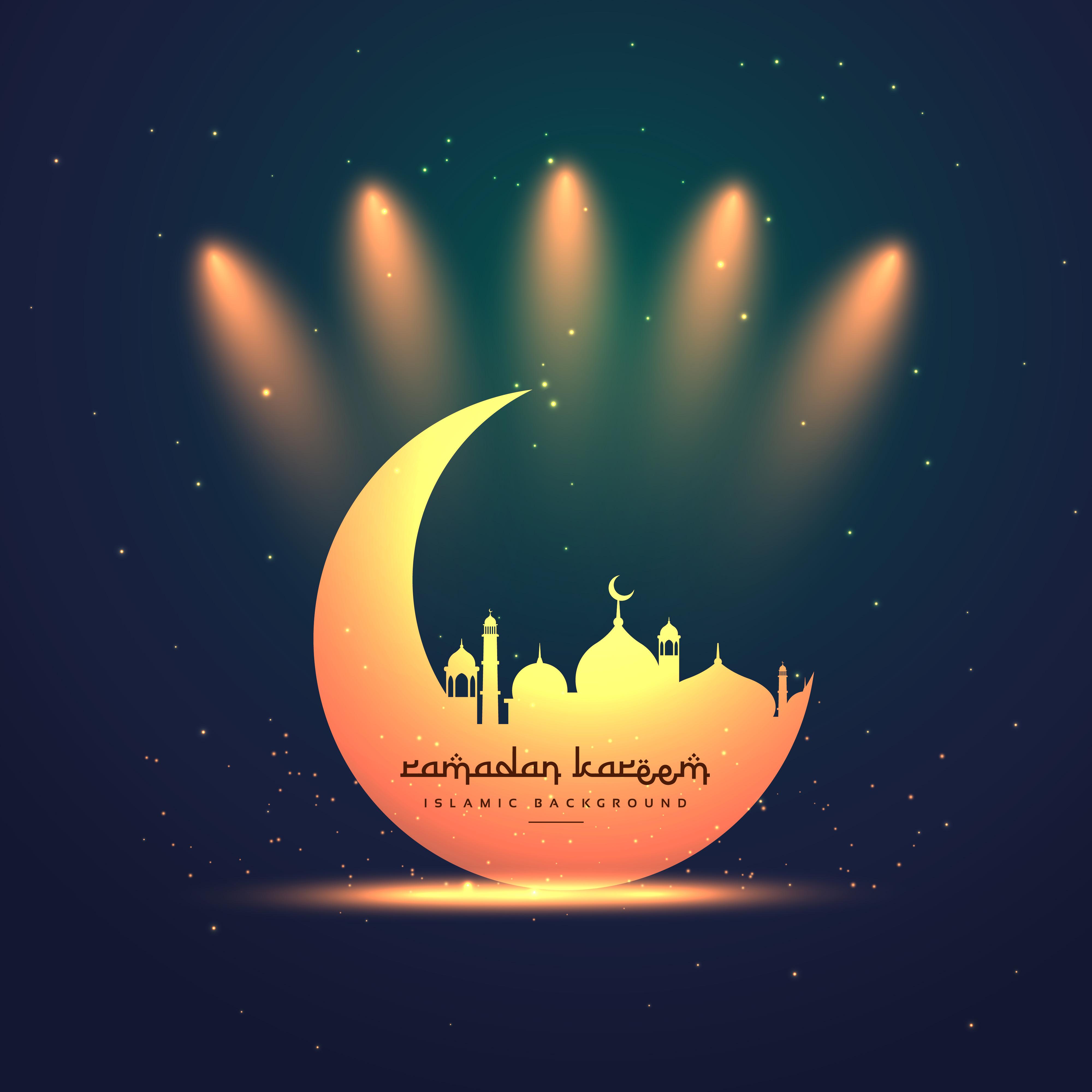 Ramadan Kareem Festival Greeting Download Free Vector