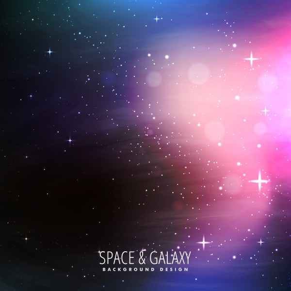 stars filled universe background - Download Free Vector ...