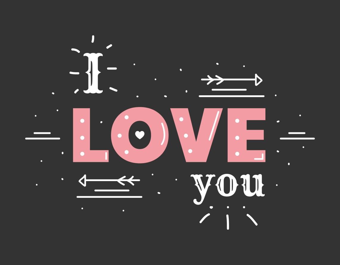 Download I Love You Vector - Download Free Vectors, Clipart ...