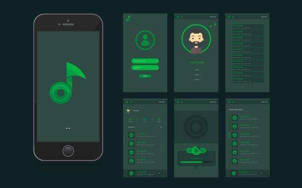 Mobile App UI Interface and GUI - Download Free Vectors ...