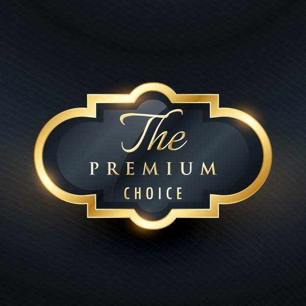 stylish premium choice label design - Download Free Vector ...