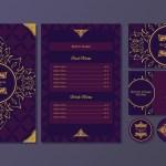 Thai Menu Fine Dining Restaurant Template Vector Download Free Vectors Clipart Graphics Vector Art