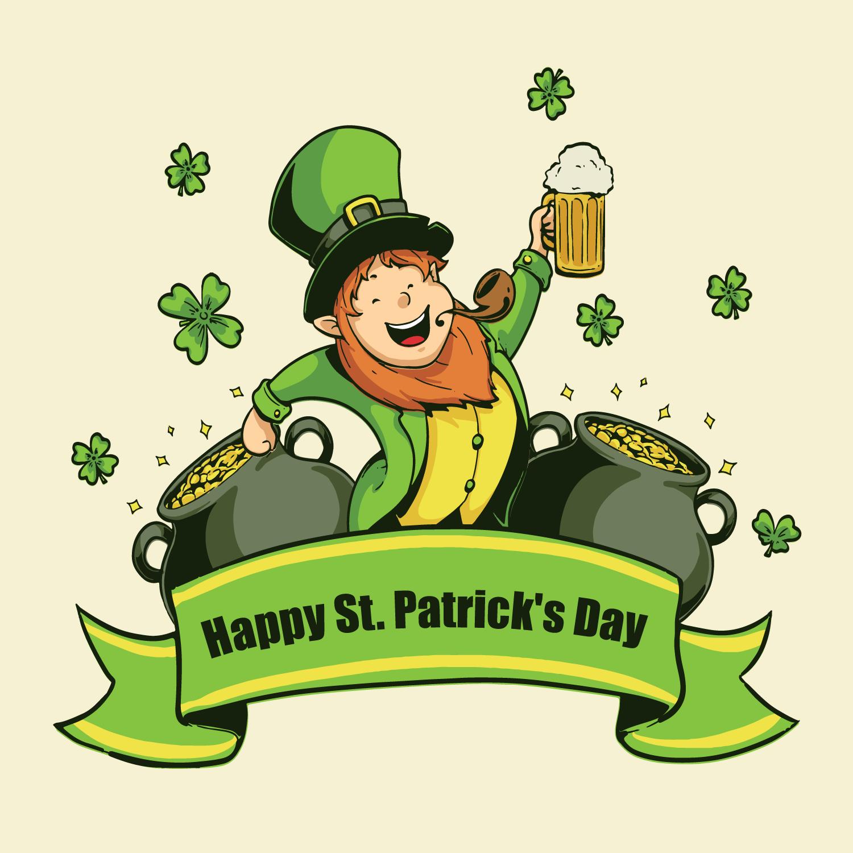 St Patricks Day Illustration