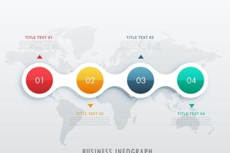 timeline infographic design vector template   Download Free Vector     timeline infographic design vector template