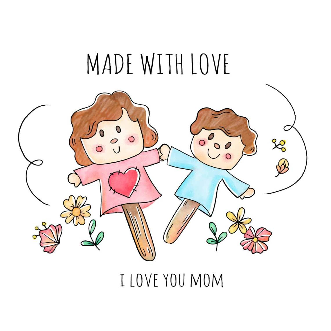 Download Made With Love Free Vector Art - (22 Free Downloads)