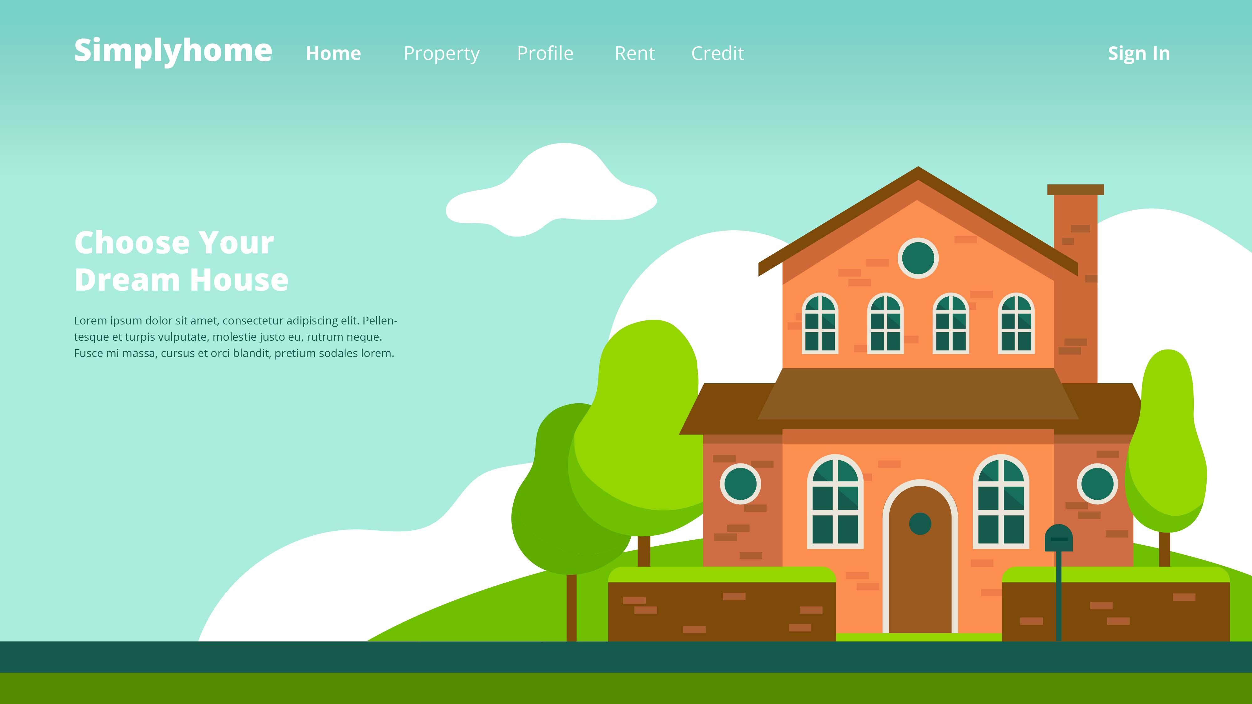 Property Company Web Header Download Free Vectors