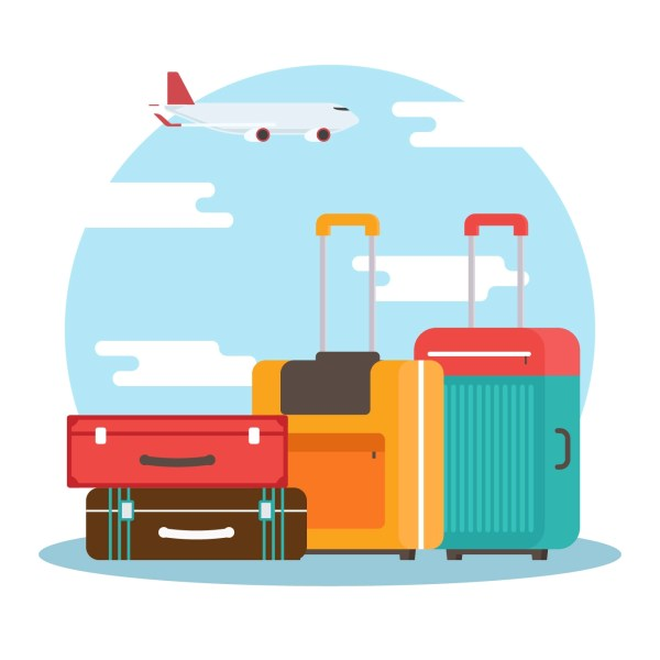 Vintage Luggage Tag Free Vector Art - (9 Free Downloads)