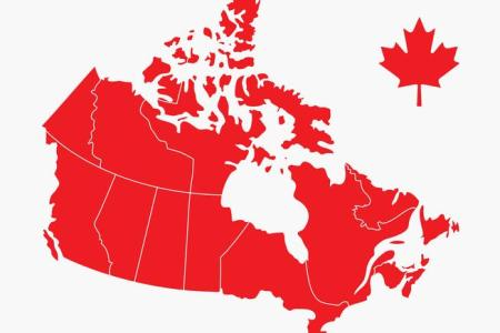 canada map vector image canada map canada map canada » 4K Pictures ...