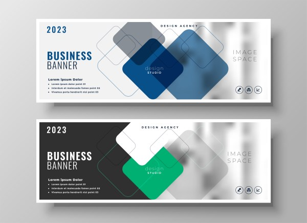 creative corporate business banners design - Download Free ...