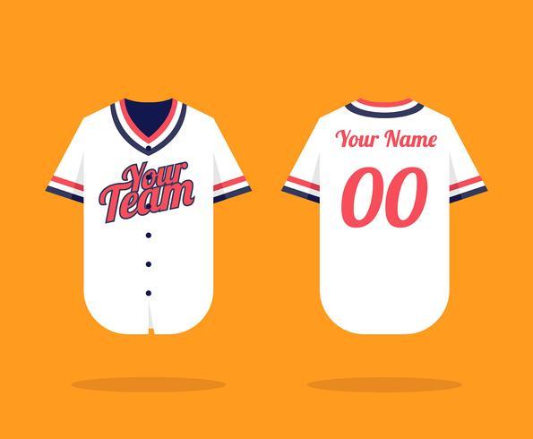 Download Baseball Jersey Mockup - Download Free Vectors, Clipart ...
