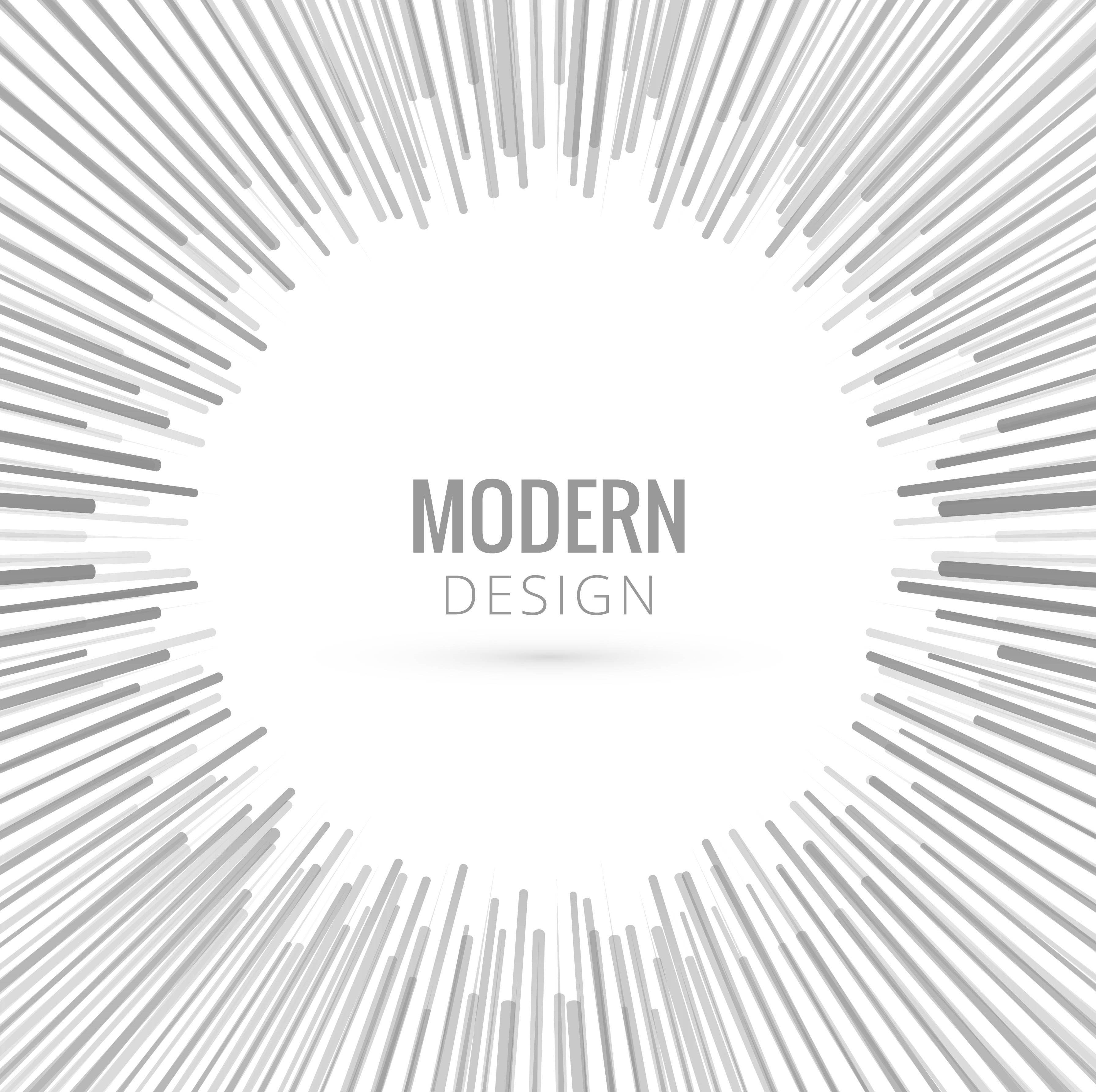 Modern Grey Rays Background