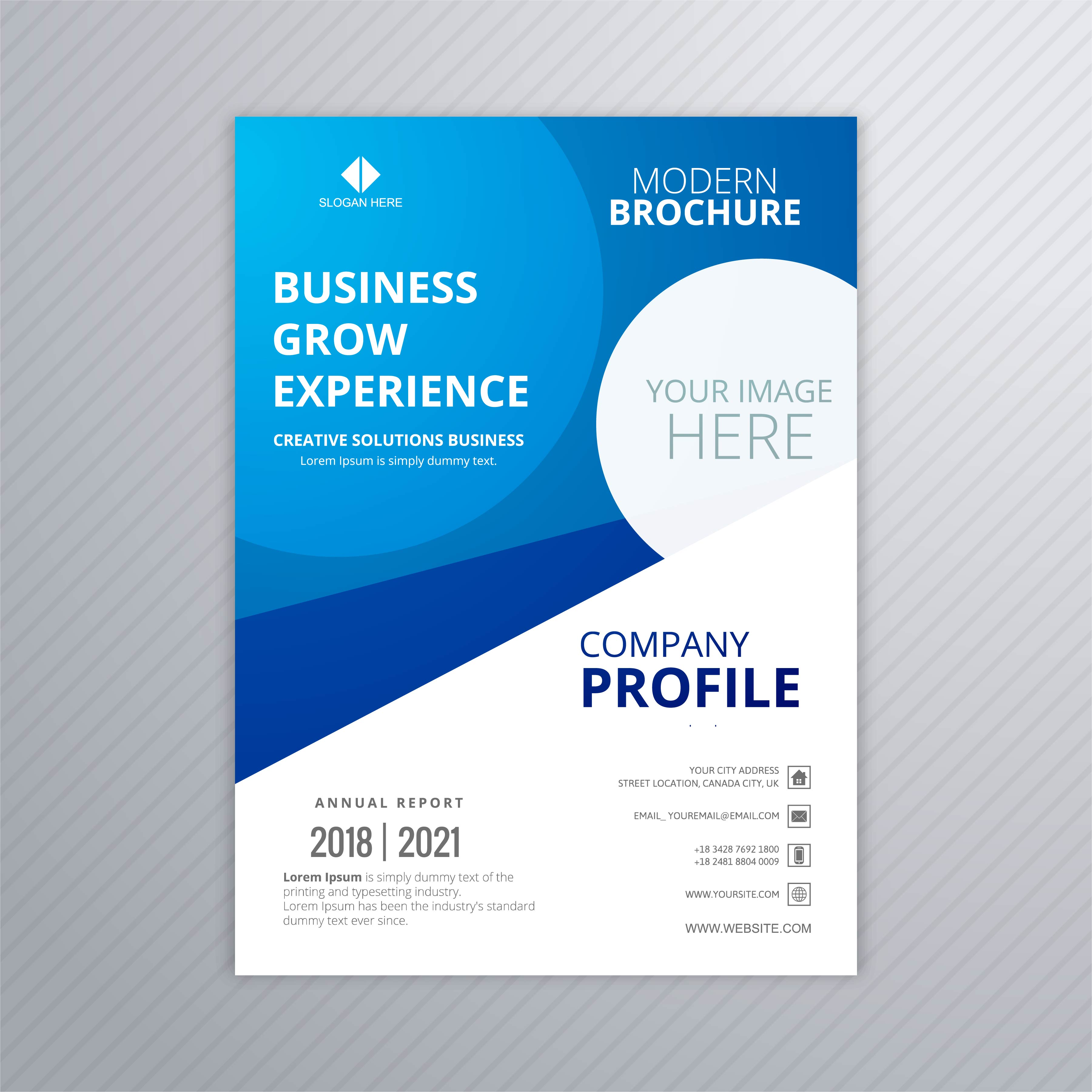 Business Professional Brochure Template Design Download Free Vector Art Stock Graphics Amp Images