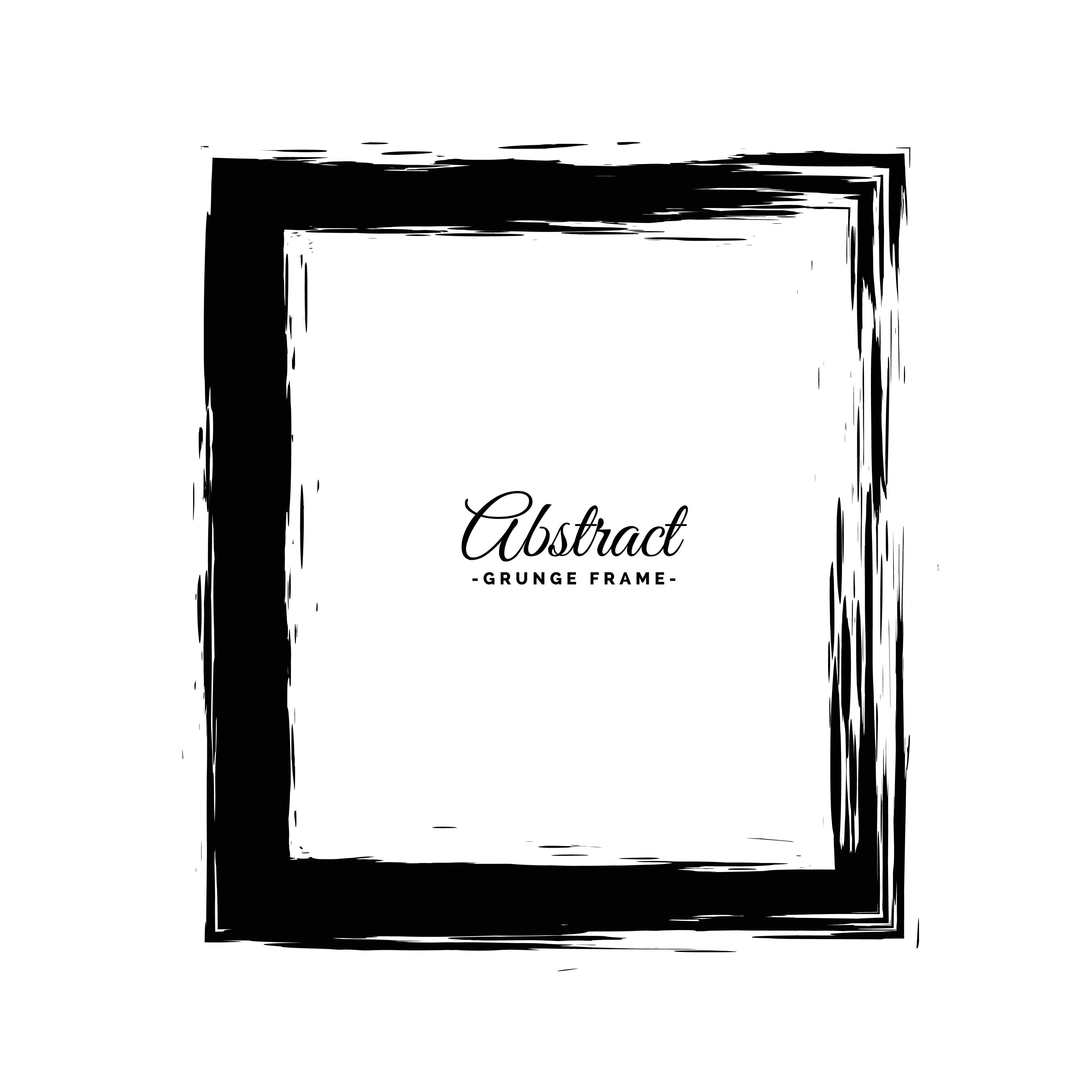 Abstract Frame Free Vector Art