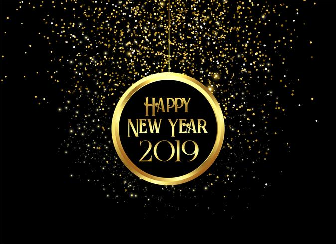 Beautiful 2019 Happy New Year Sparkles And Glitter