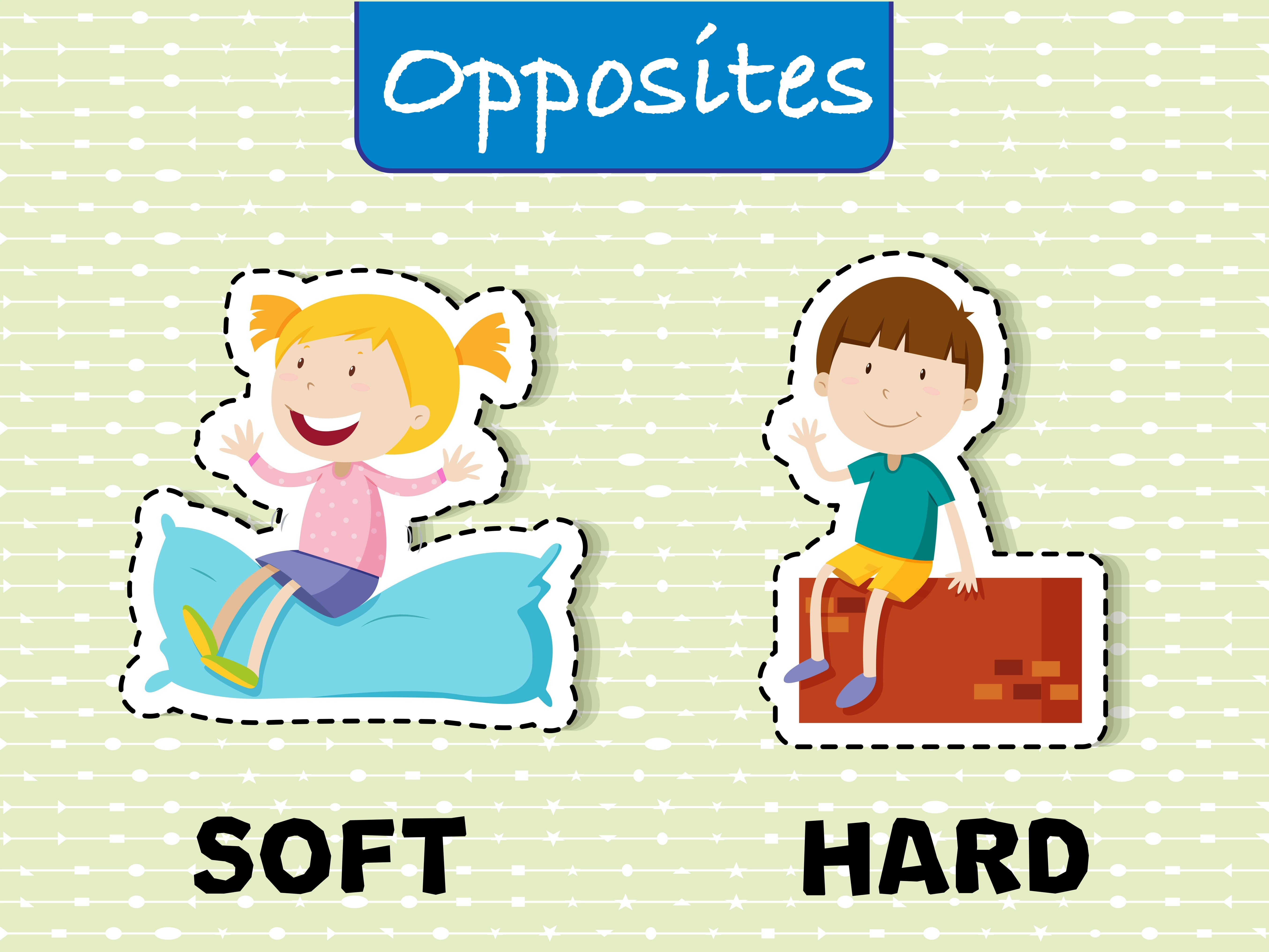 Opposite Words For Soft And Hard