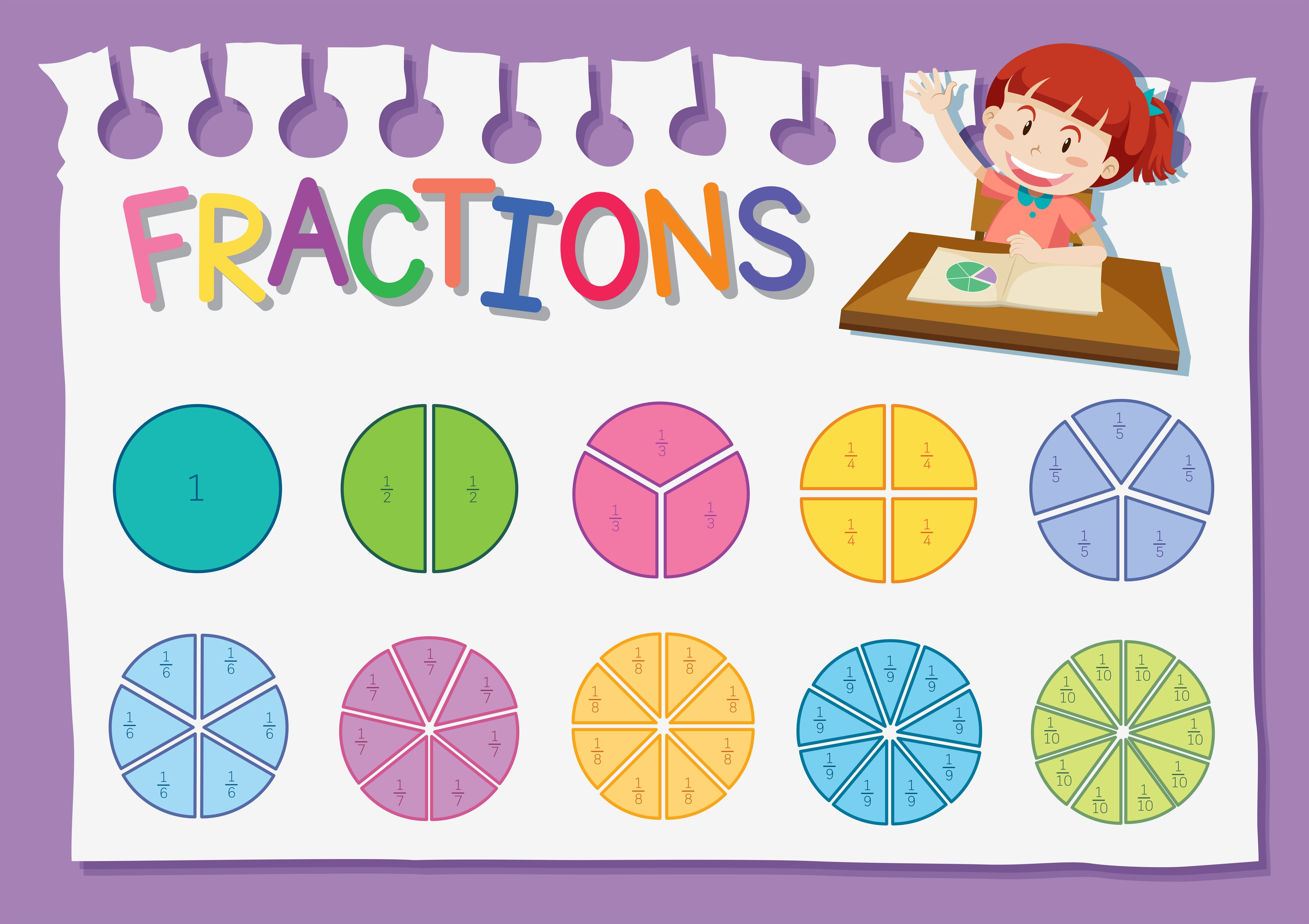 Fraction Free Vector Art