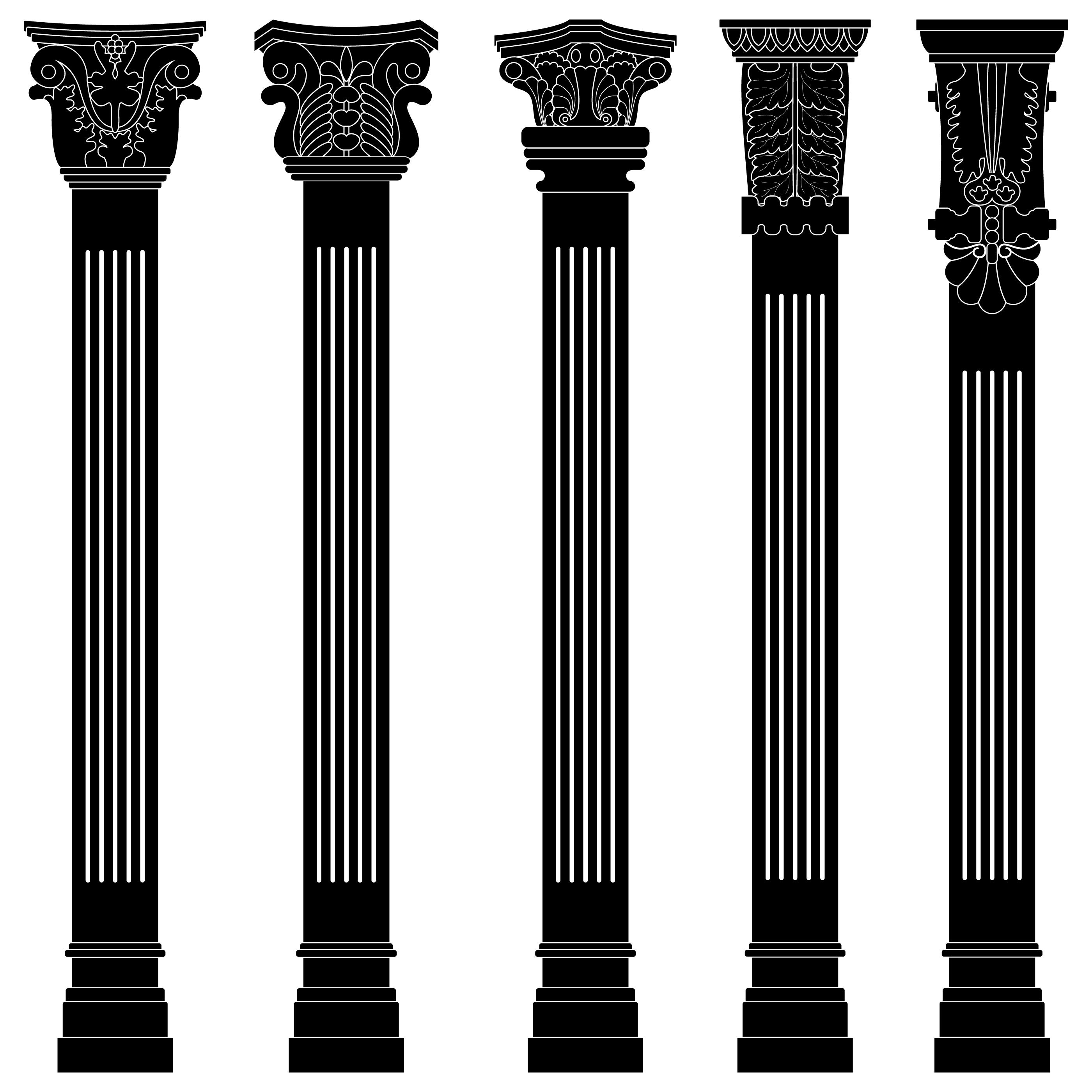 Antique Pillar Column
