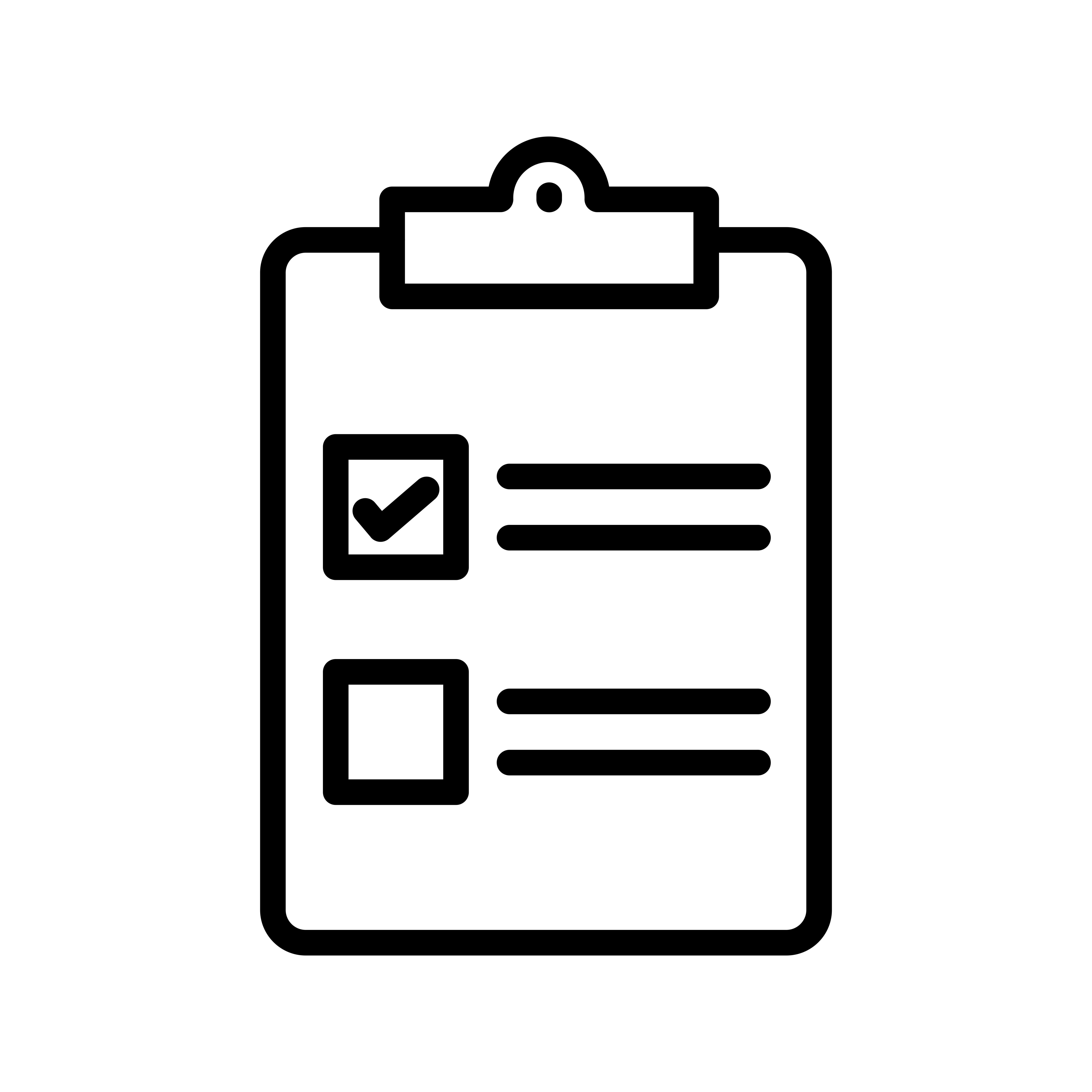 Checklist Icon Free Vector Art