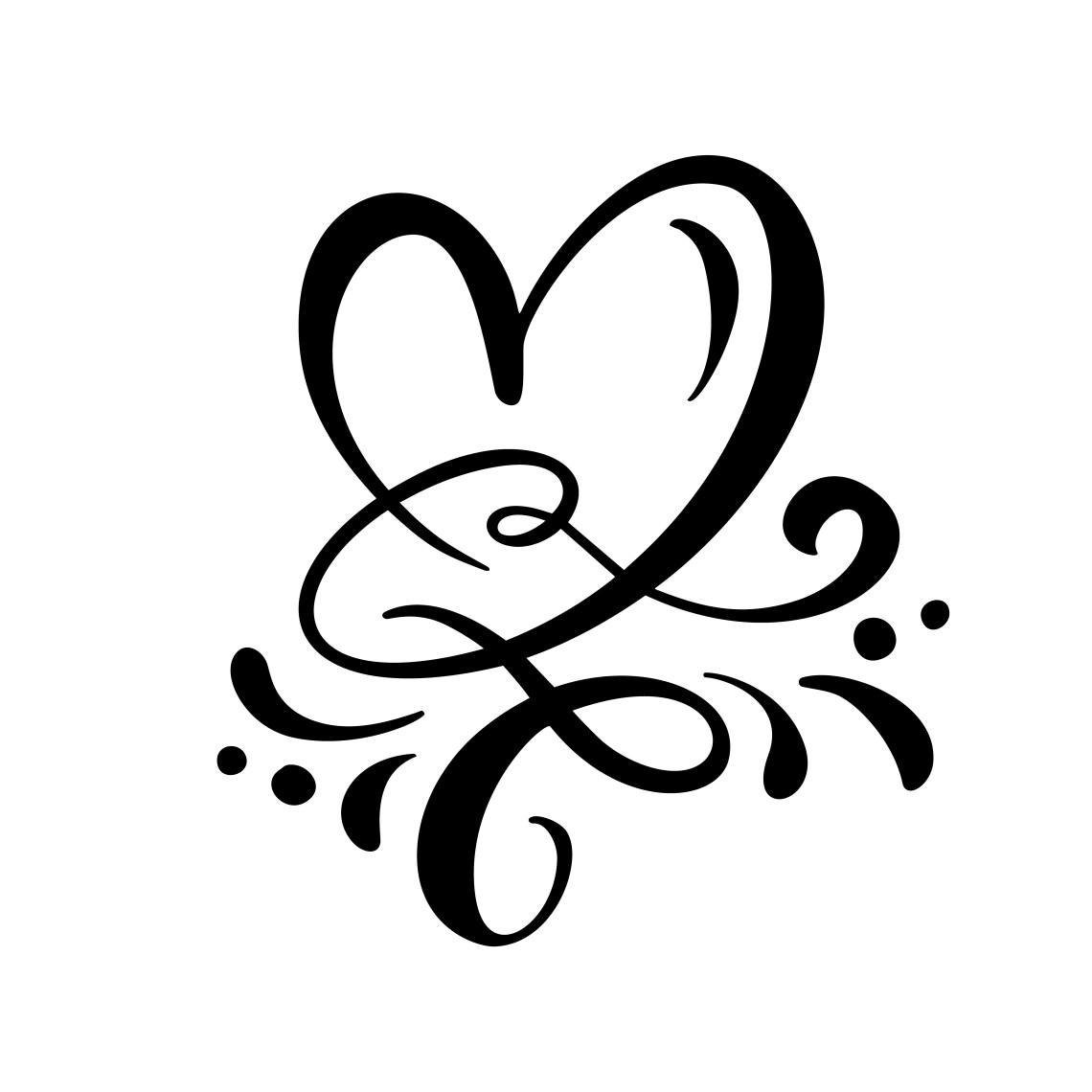Download Heart love sign Vector illustration - Download Free ...