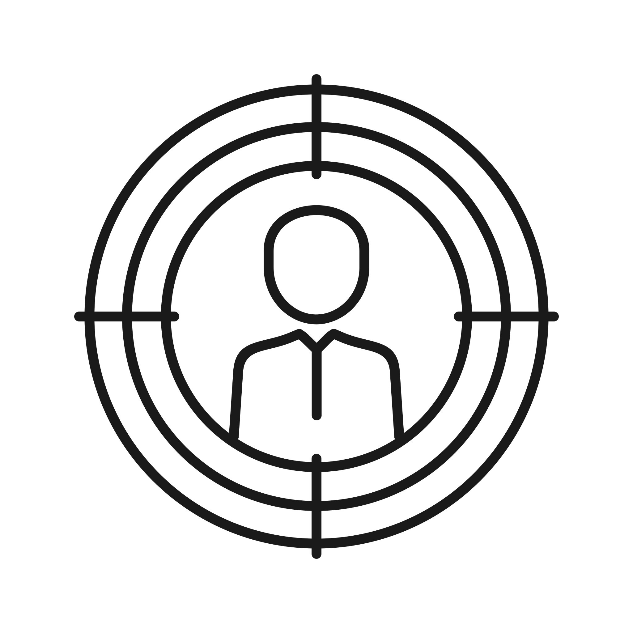 Target Marketing Seo Line Icon