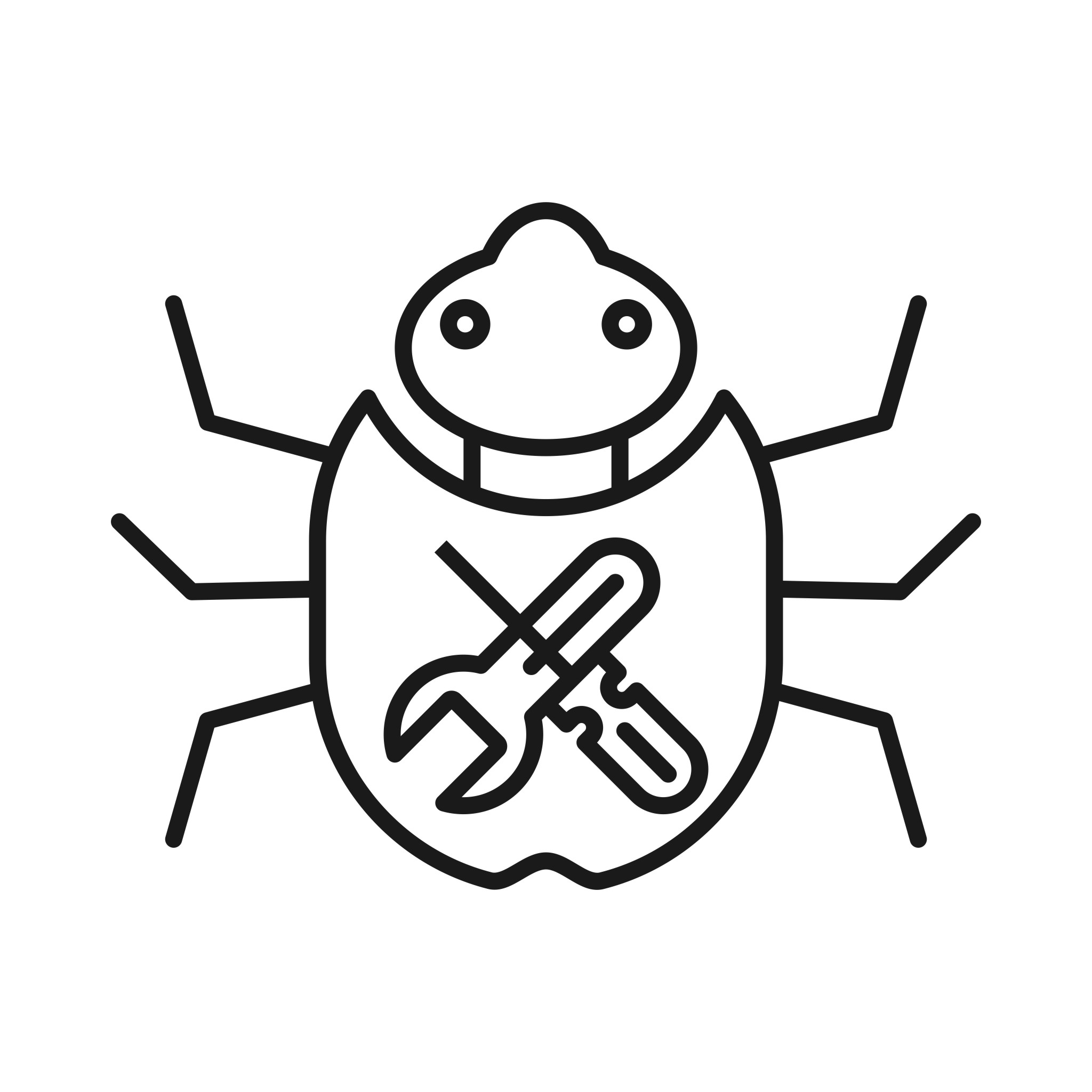 Bug Fixing Seo Line Icon