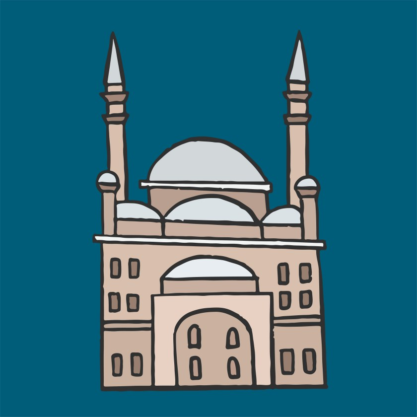 the great mosque of muhammad ali pasha in the citadel of
