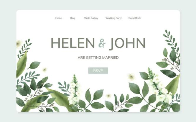Fl Wedding Invitation Website