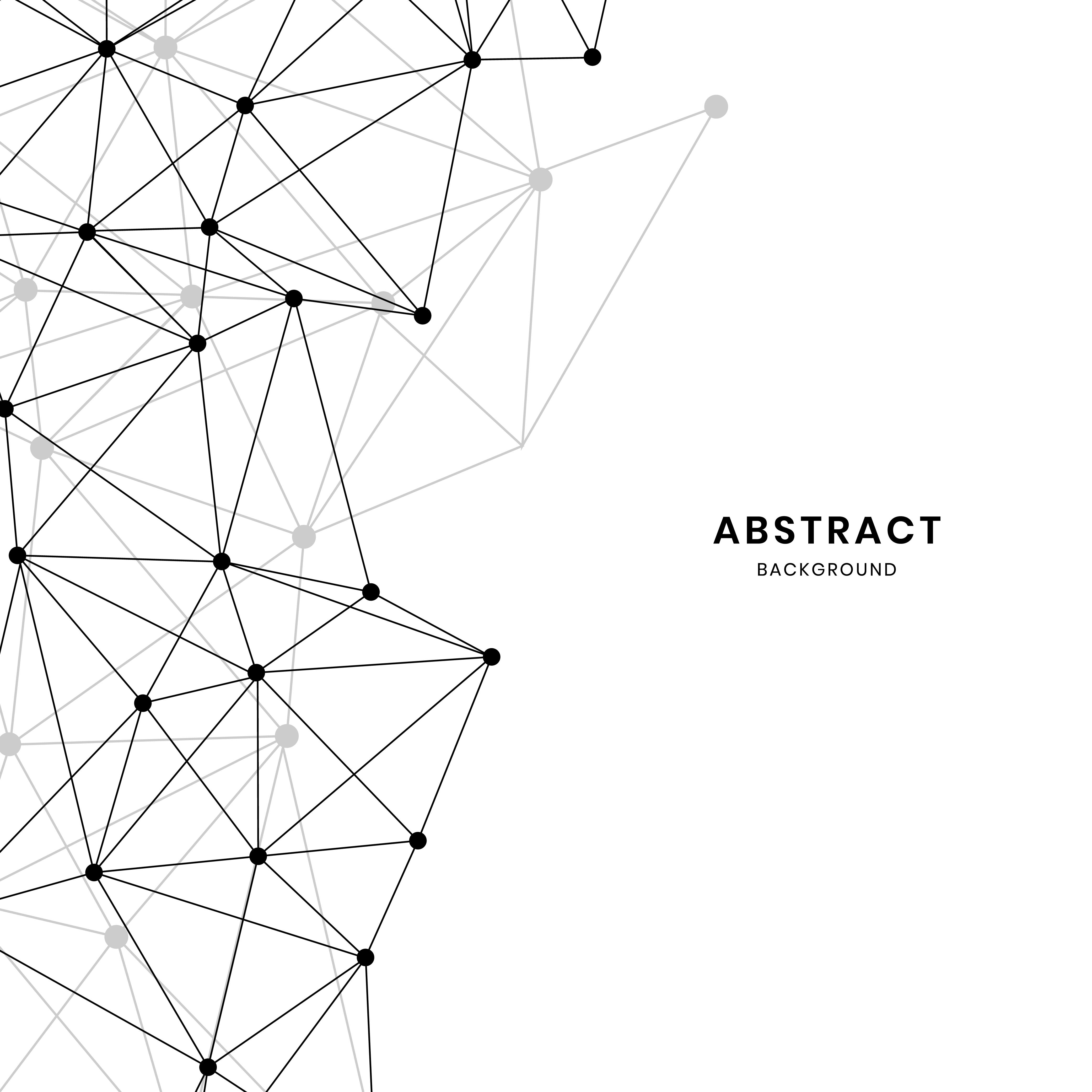 White Neural Network Illustration Vector