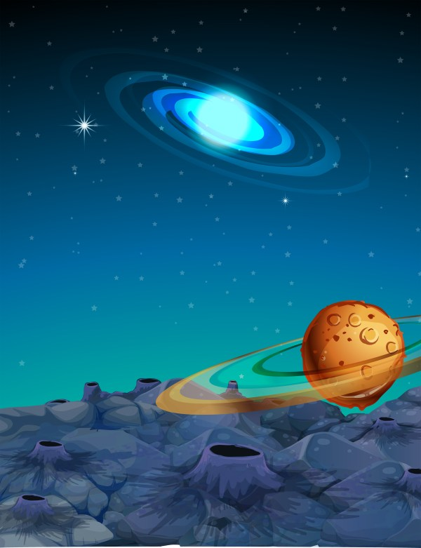 Background scene with planets in space - Download Free ...