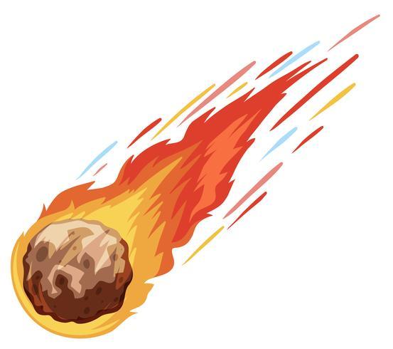 Comet falling down fast - Download Free Vector Art, Stock ...