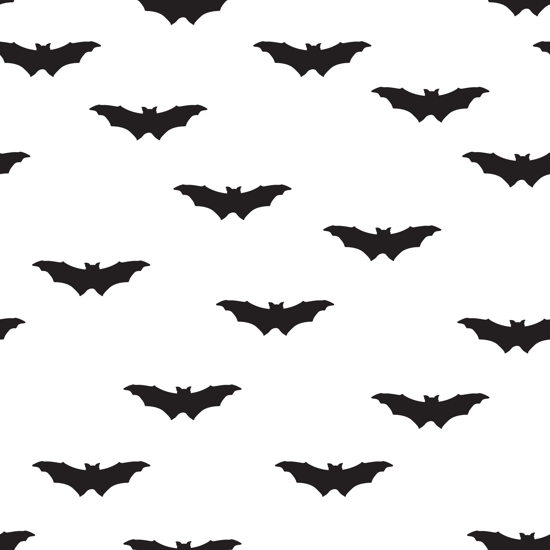 Halloween Bat Seamless Pattern Holiday Halloween
