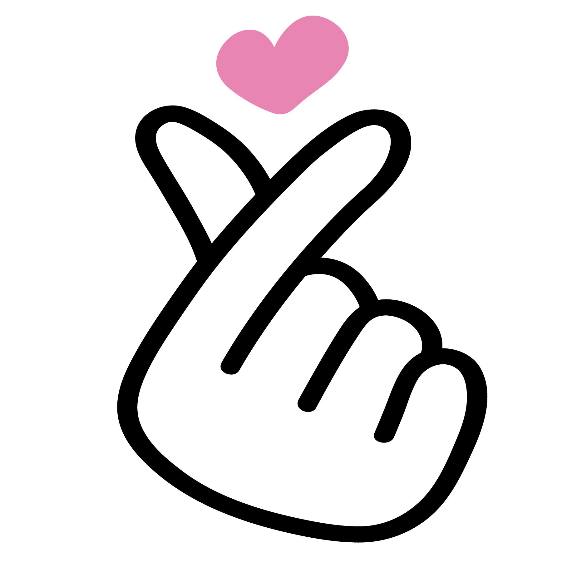Korean Fingerheart