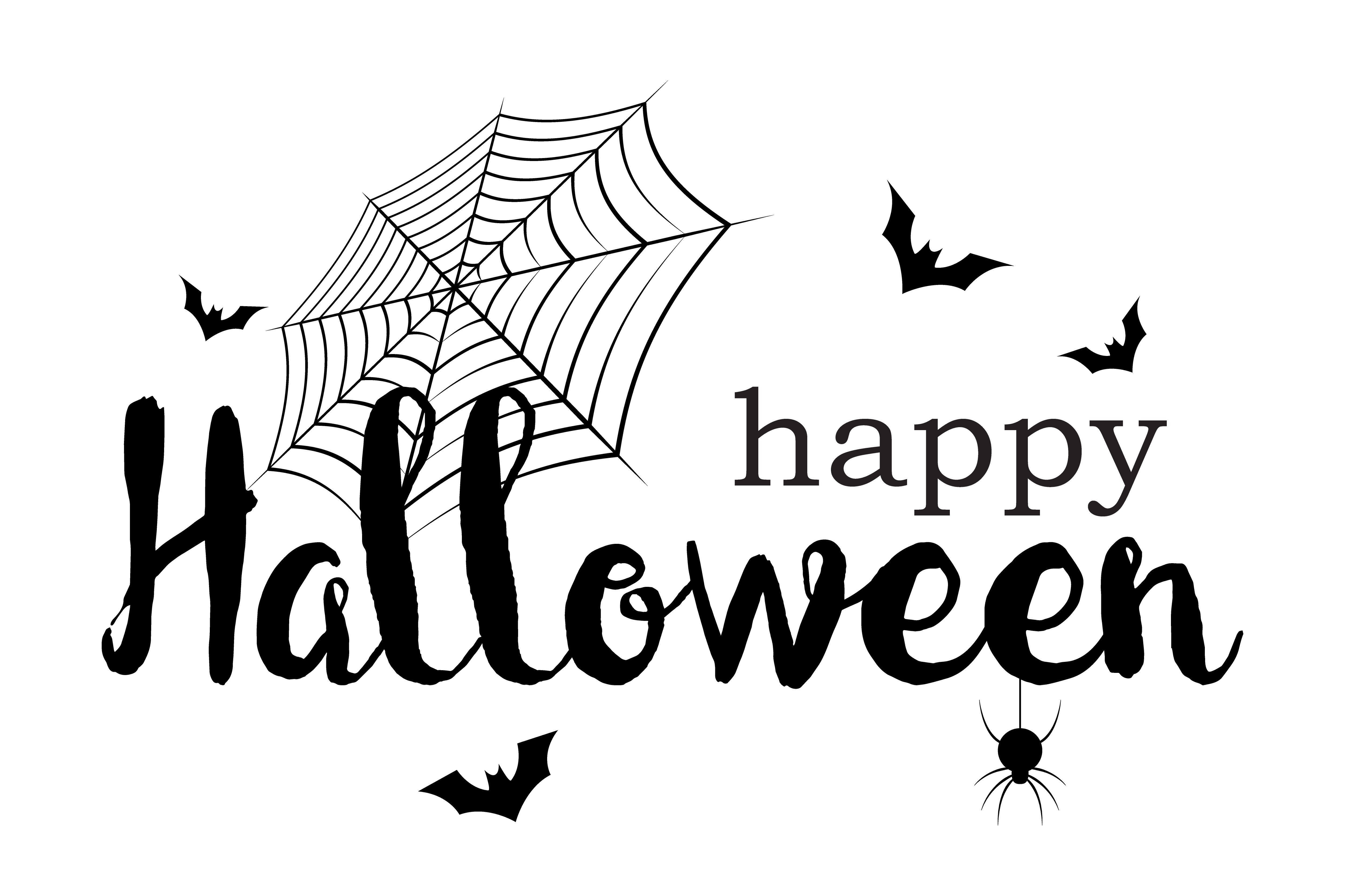 Happy Halloween Banner Invitation Letter And Message