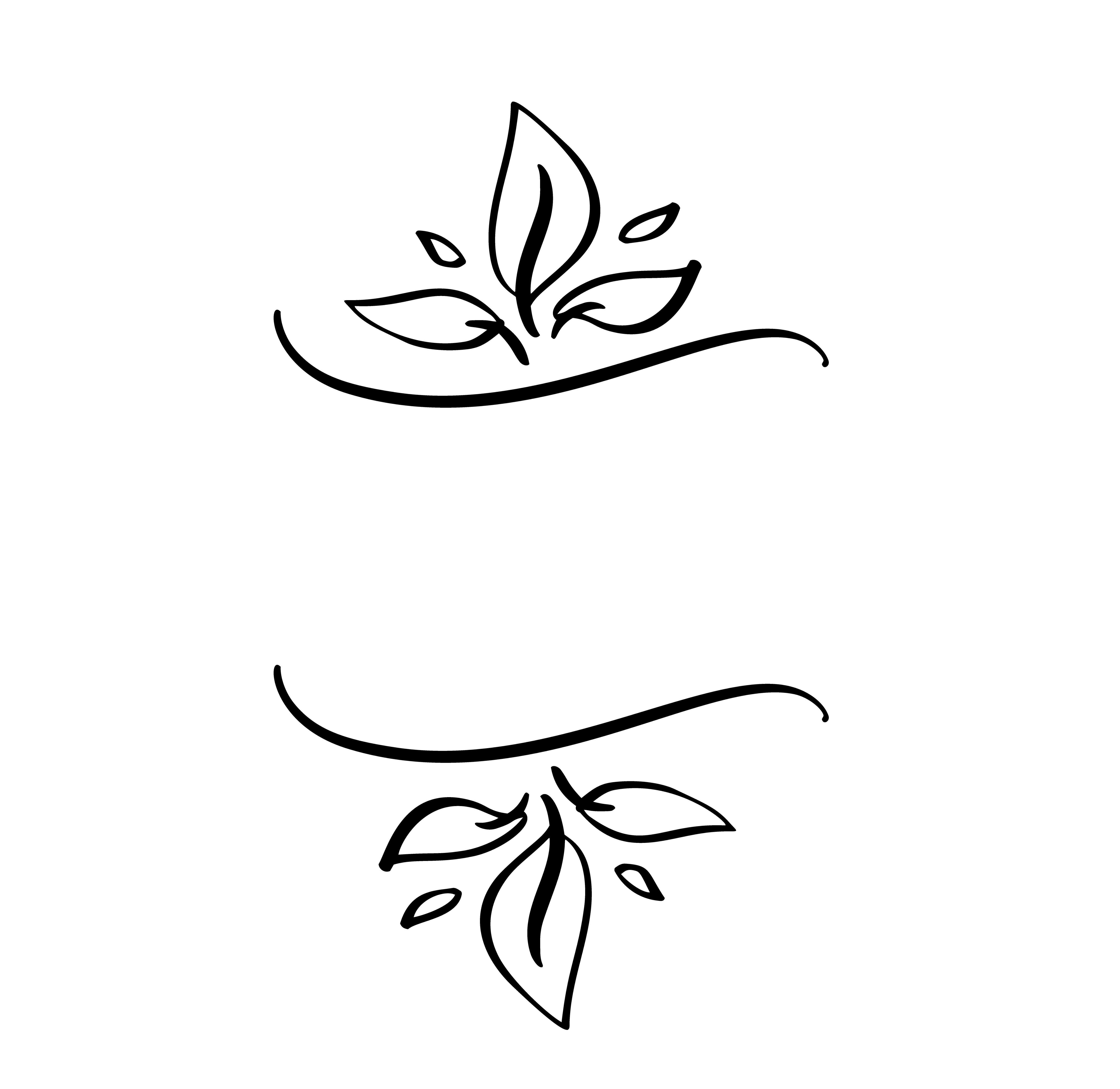 Autumn Vector Illustration Leaves Border Frame With Space