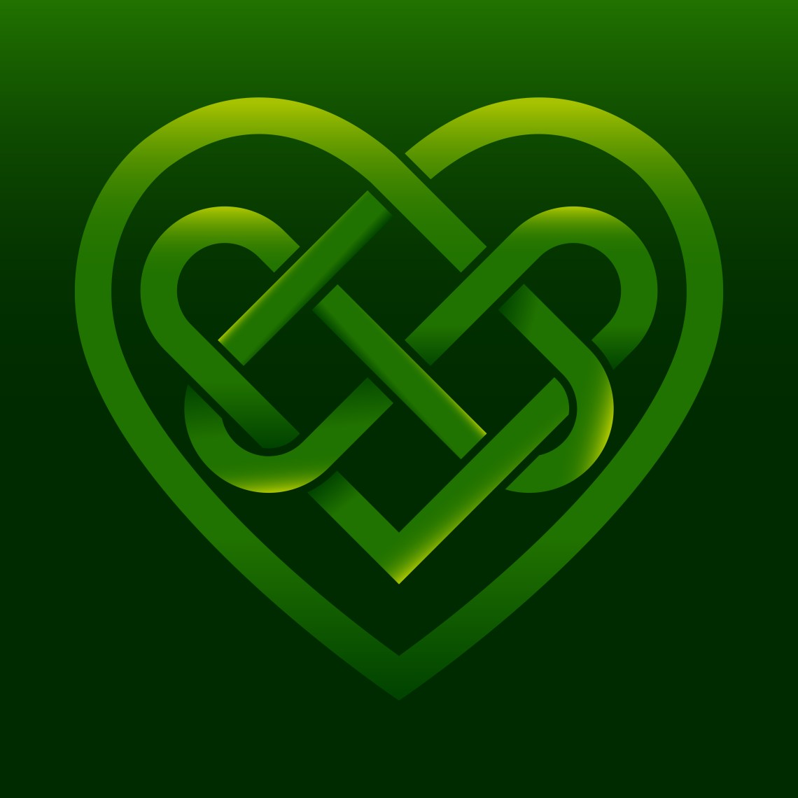 Download Celtic Heart Knot : Sterling Silver Celtic Love Knot Heart ...