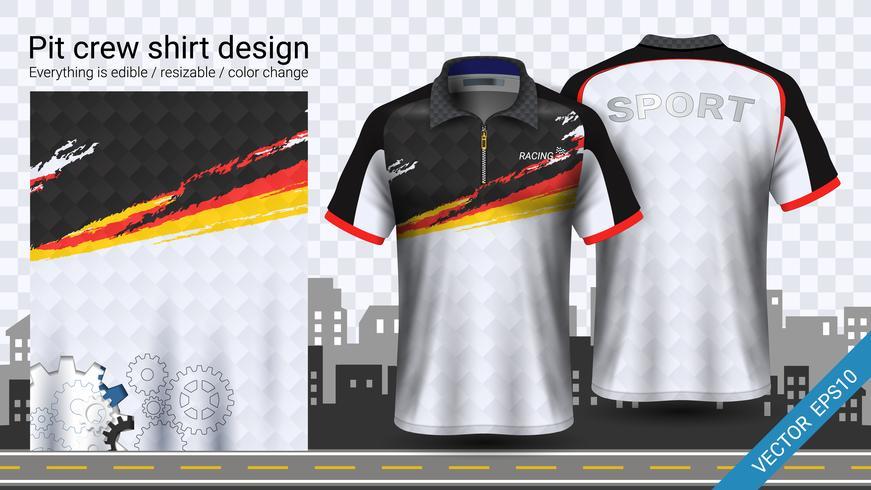 Best Racing t-shirt with zipper, Sport apparel mockup ...