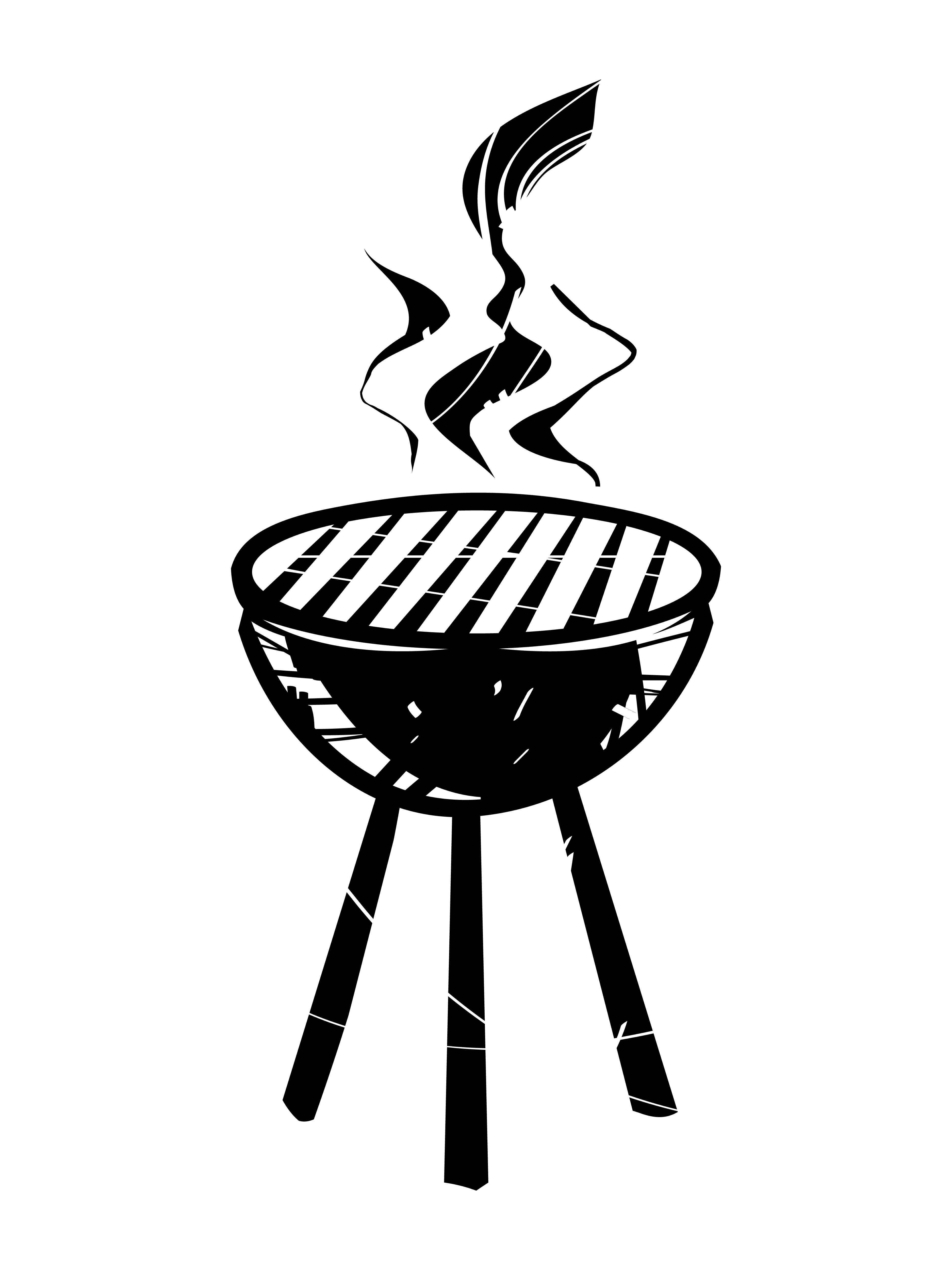 Bbq Grill Vector Icon