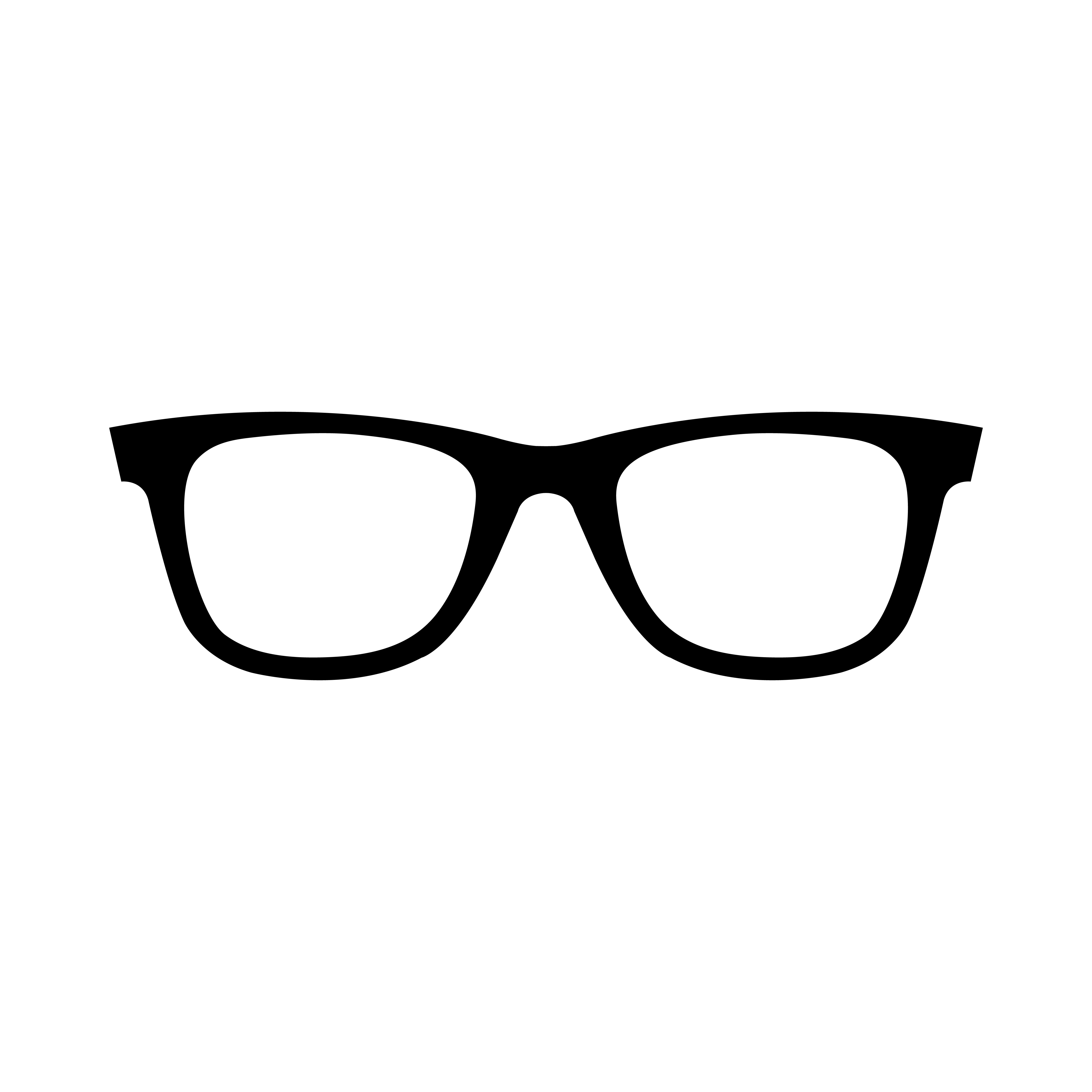 Cool Sunglasses Eye Frames Vector Icon