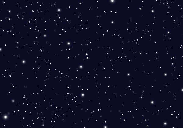 Space with stars universe space infinity and starlight ...