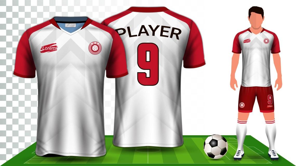 Download Soccer Jersey and Football Kit Presentation Mockup ...