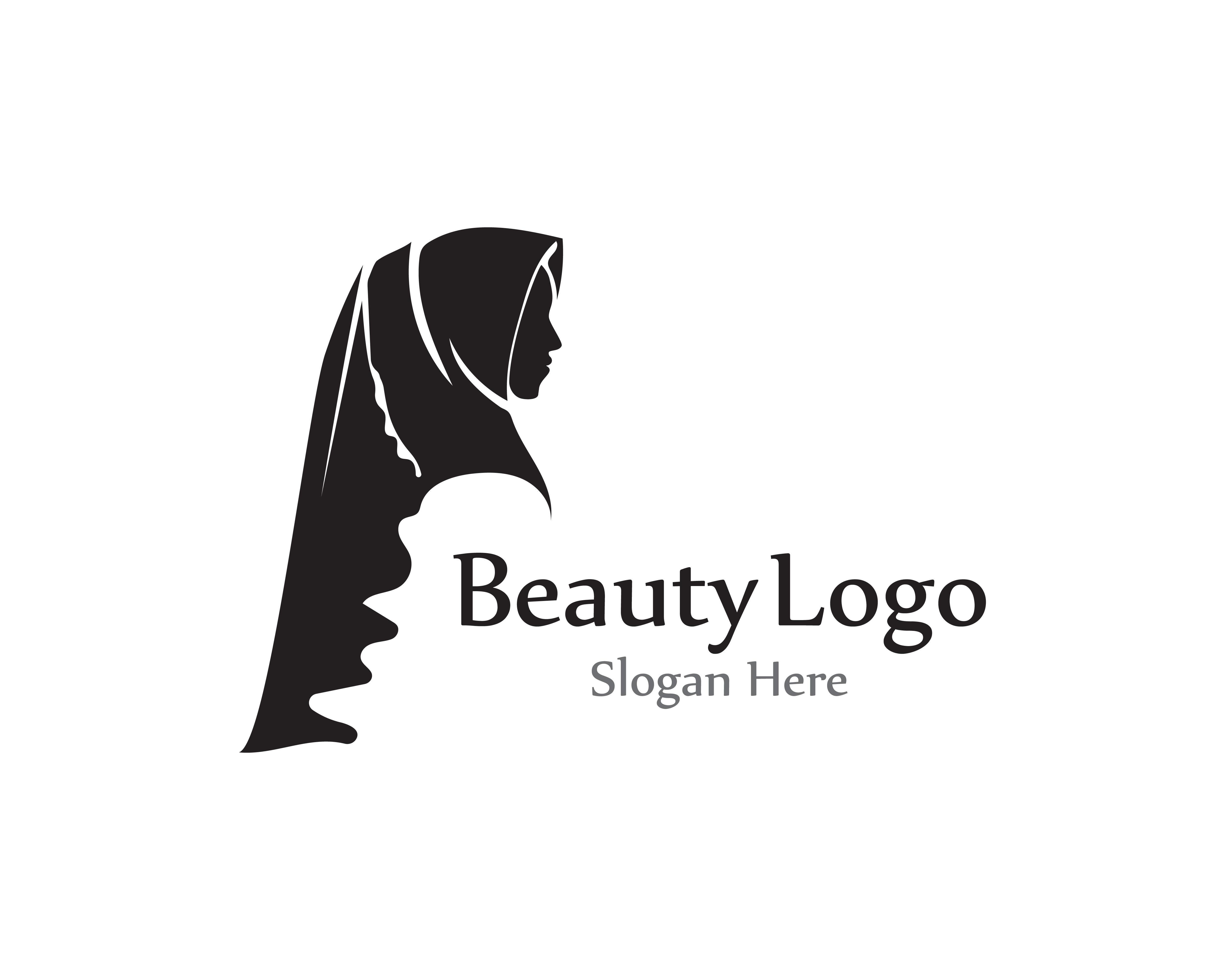 Logo Hijab Free Vector Art