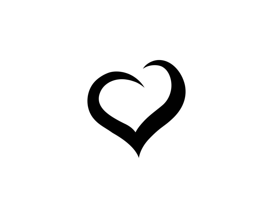 Download Love heart symbol logo templates - Download Free Vectors ...