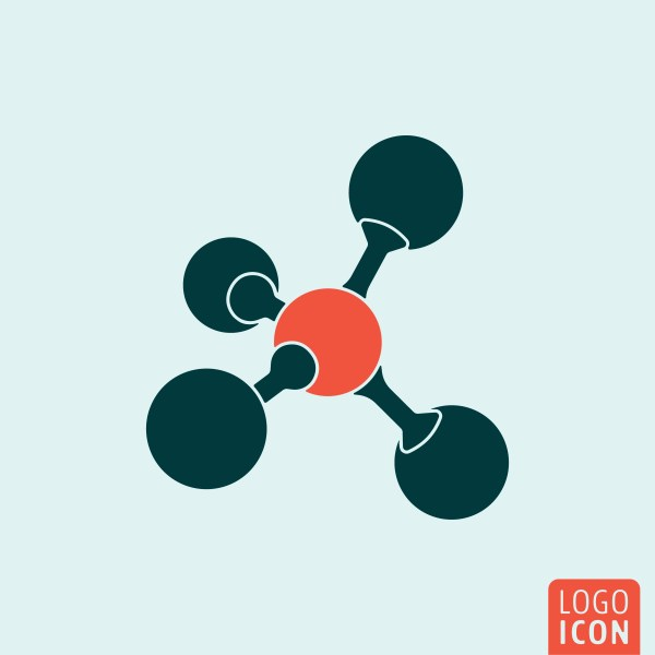 Molecule icon isolated - Download Free Vectors, Clipart ...