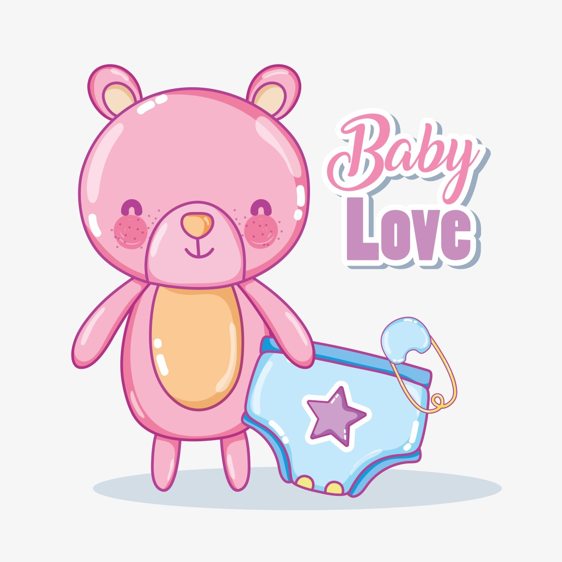 Download Baby love card - Download Free Vectors, Clipart Graphics ...