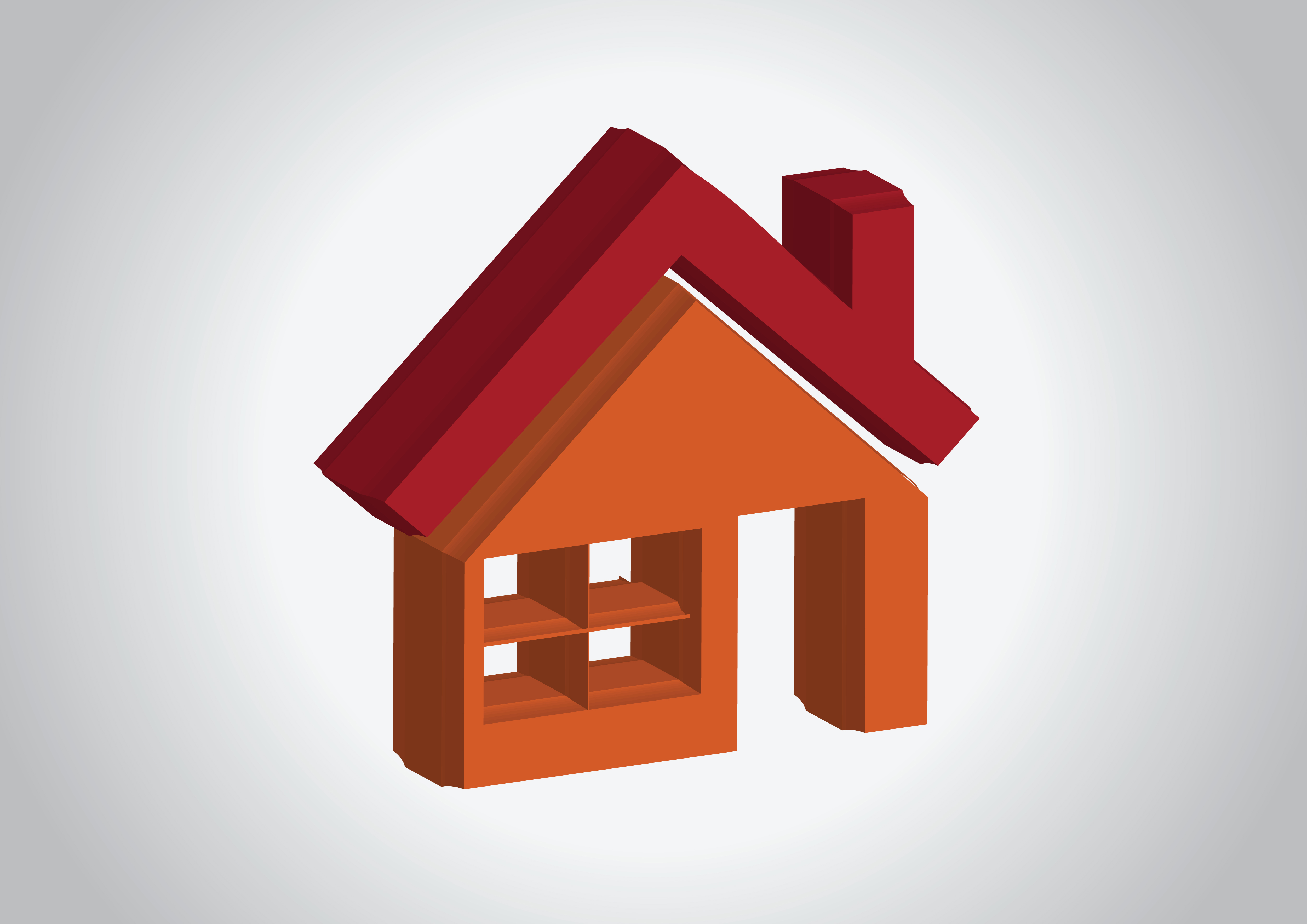 House Icon And Real Estate Building Abstract Design