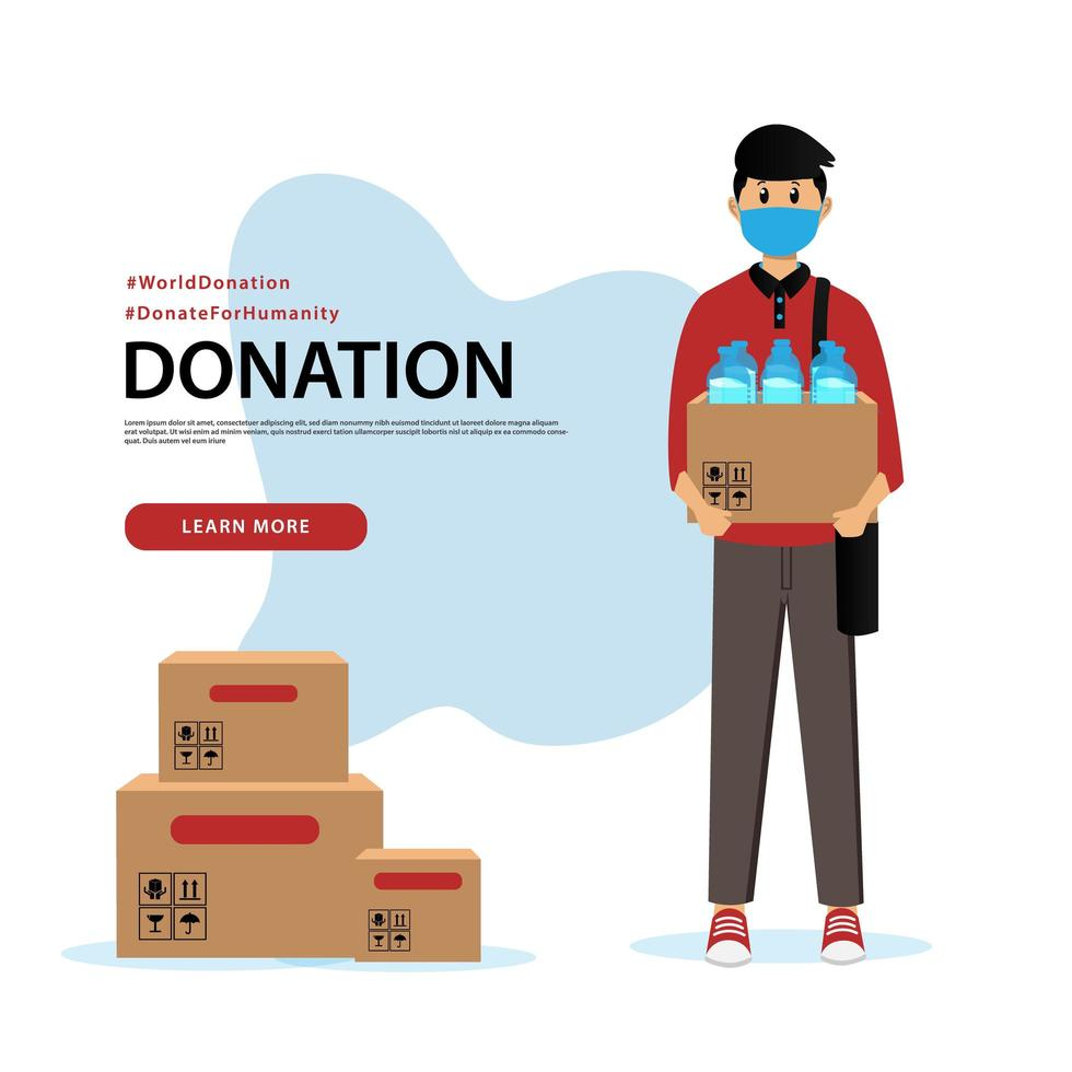 If you are looking for a way to raise awareness for a cause, you better not miss building a website. Donation Banner And Social Media Post Template 1309031 Vector Art At Vecteezy