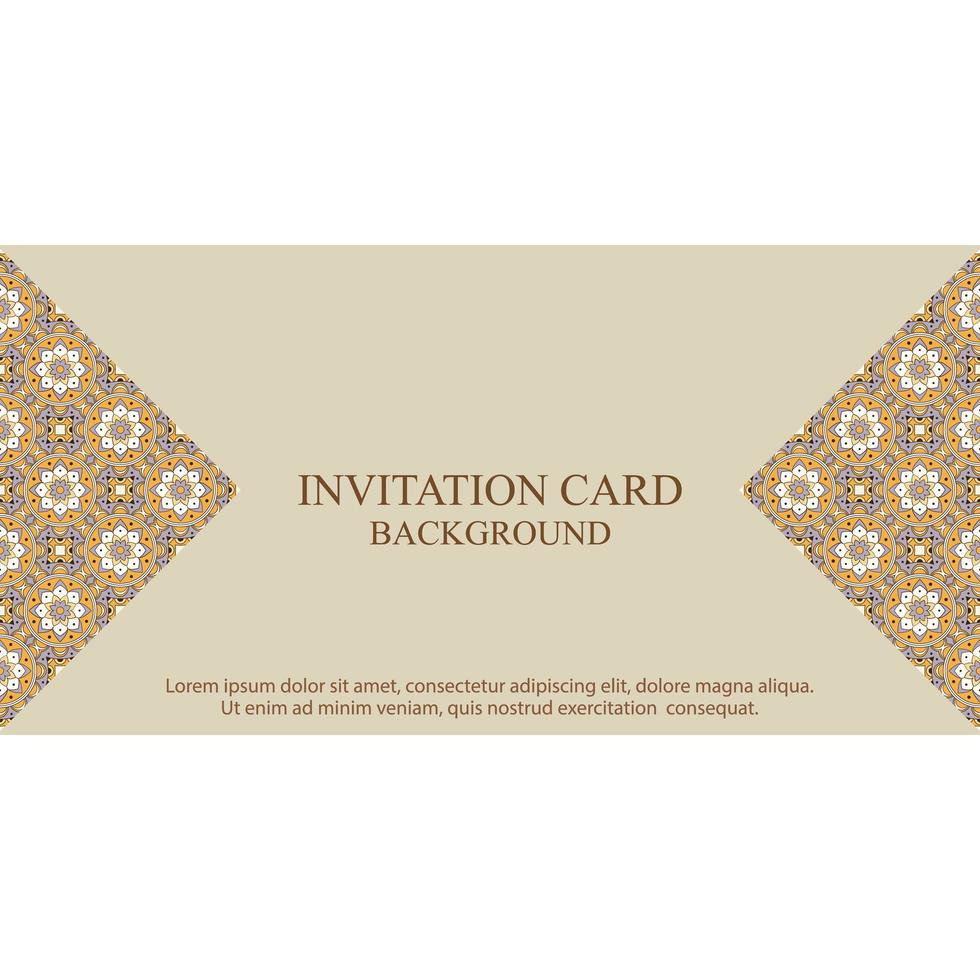 https www vecteezy com vector art 1361835 invitation card background template with boho pattern