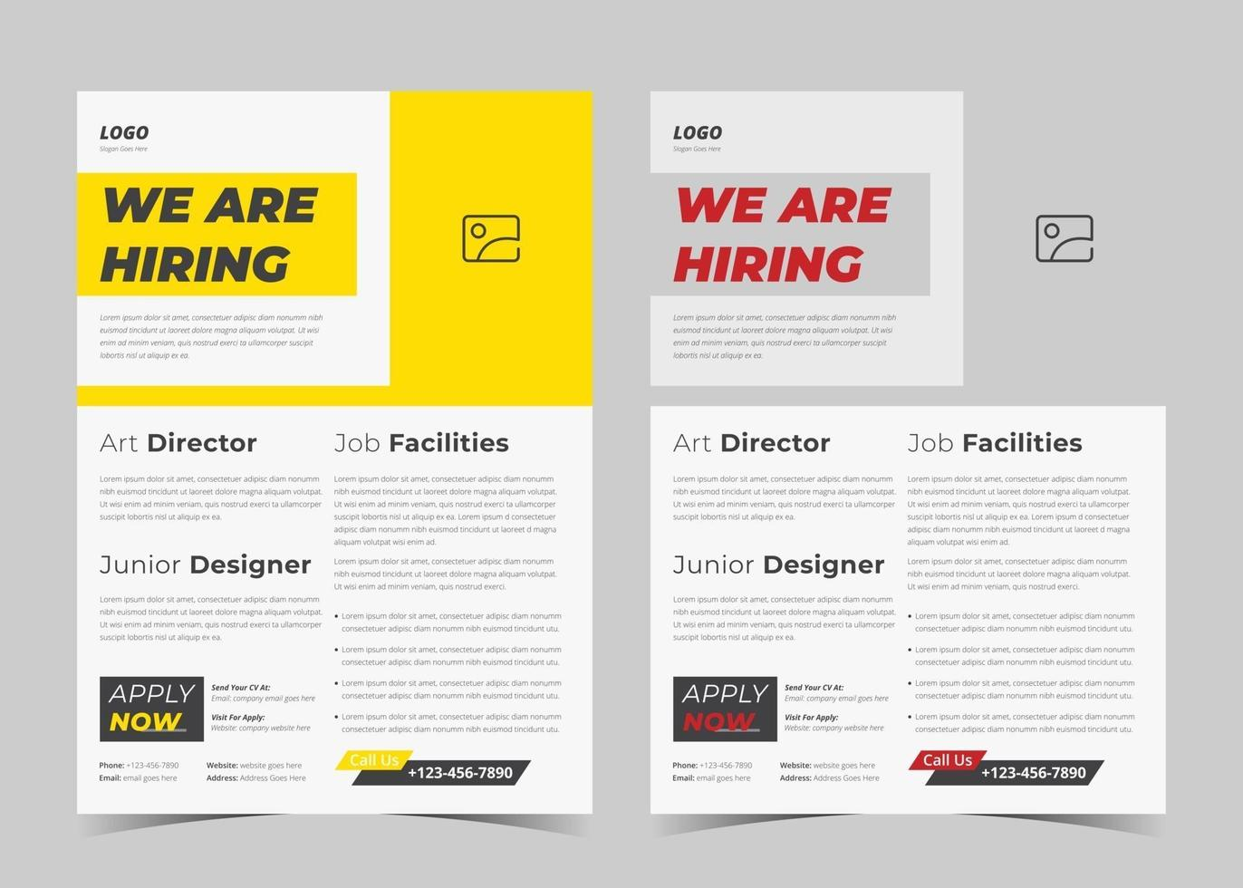 Pikbest has 4602 hiring design images templates for free download. We Are Hiring Flyer Design We Are Hiring Poster Template Job Vacancy Leaflet Flyer Template Design 2629092 Vector Art At Vecteezy